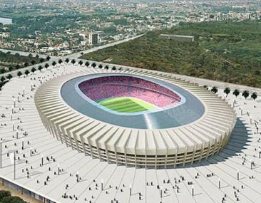 Mundial de Futbol 2014: Estadios Sustentables