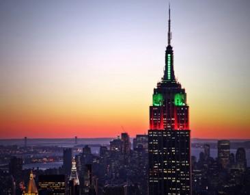 Un nuevo sistema de LEDs iluminará el Empire State