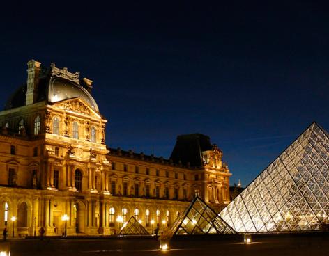El Louvre luce nueva Iluminación Sustentable