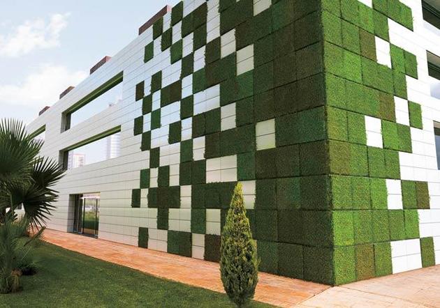 Los verdaderos materiales verdes abilia i blog i for Materiales para un muro verde