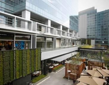 Park Plaza, arquitectura multiusos y sustentable