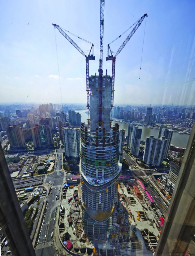 Shanghai Tower será sustentable y la más alta de China