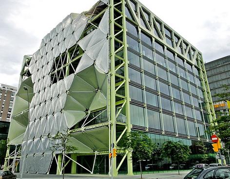 El mejor edificio 2011 recubierto de burbujas y cero emisiones