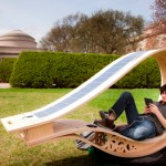 La Soft Rocker, una hamaca que recolecta energía solar
