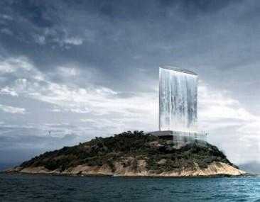 Cascada-Rascacielos gigante podría abastecer de energía a los Juegos Olímpicos de Río 2016