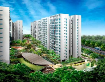 Singapur construye un conjunto de viviendas totalmente eco-amigables