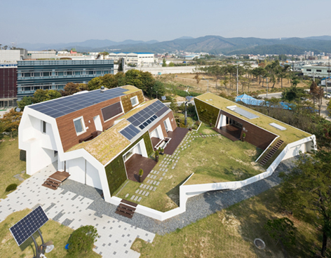E+ Green Home / Unsangdong Architects