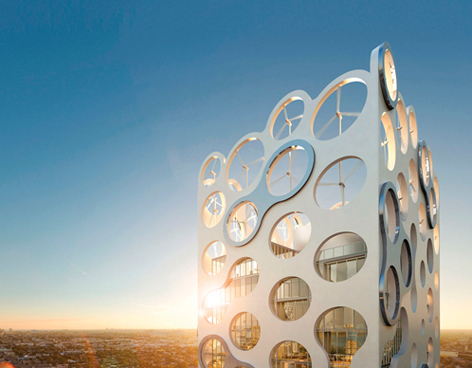 cor el primer edificio sostenible mixto de y comercio