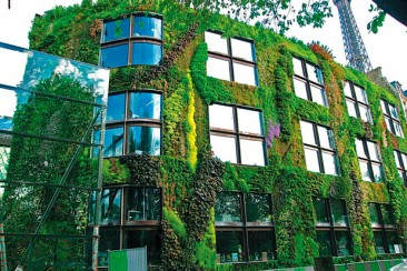Jardines verticales: el verde toma el vuelo