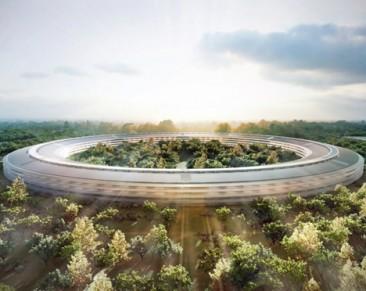 """Apple y su """"nave espacial"""" sustentable"""