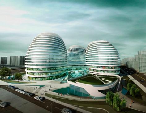 Galaxy Soho, el nuevo edificio de Zaha Hadid alcanzó la certificación LEED Plata