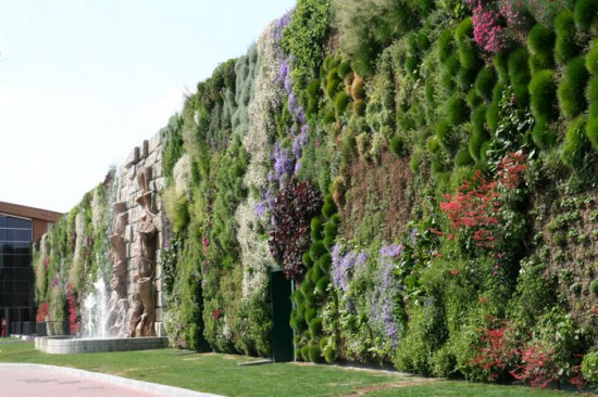 Italia tiene el jard n vertical m s grande del mundo - El jardin vertical ...