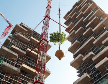 Bosco Verticale: El primer bosque vertical del mundo concluirá su construcción en Milán