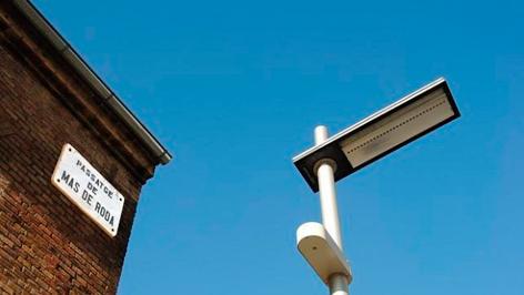 Farolas inteligentes que ahorran más de un 80% de energía