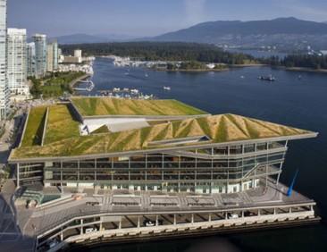 LEED Platinum Vancouver Convention Center tiene el techo verde más grande de Canadá