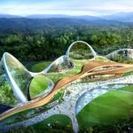 Ecorium: los domos ecológicos de Corea del Sur