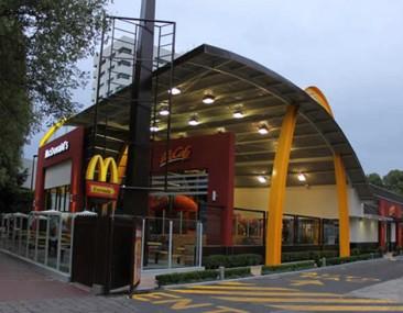 El Restaurante Ecológico de McDonald's obtuvo la Certificación LEED Gold