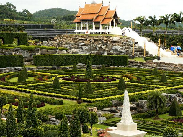 Los 10 jardines m s impresionantes del mundo abilia i for Casas mas impresionantes del mundo