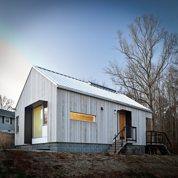 La nueva casa Norris, Norris, Tennessee / College of Architecture & Design, UT Knoxville