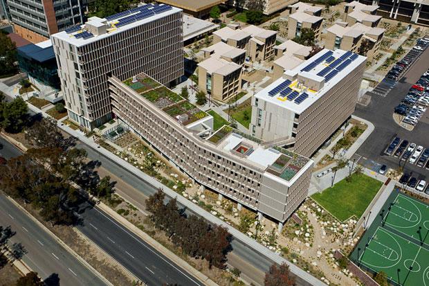 Edificio Charles David Keeling, La Jolla, California, elaborado por KieranTimberlake