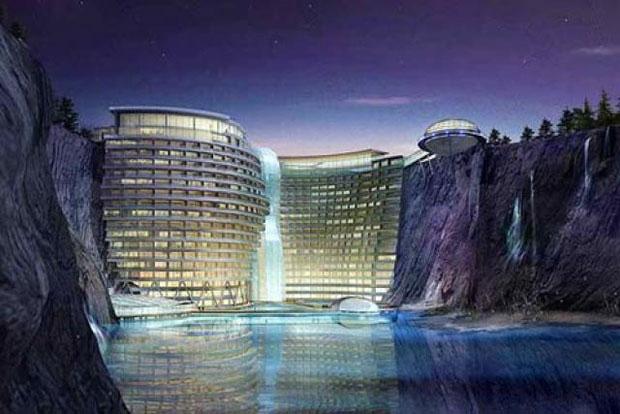 Comienza la construcción del Songjiang Hotel