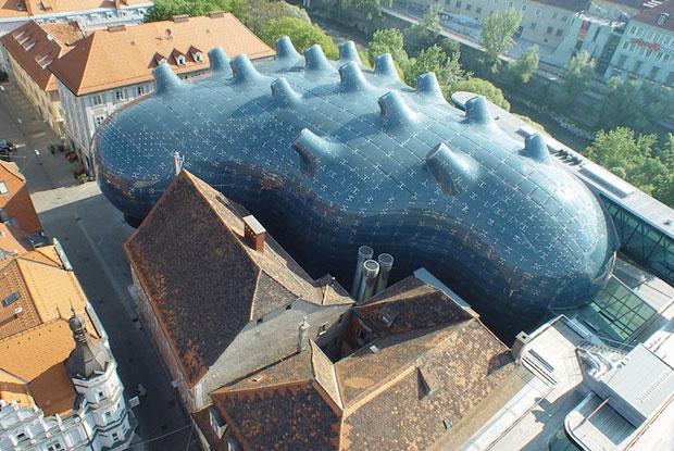 El Museo Kunsthaus Graz genera su propia energía