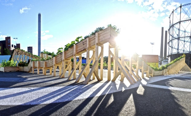 Helsinki Plant Tram: una ´montaña rusa´ verde