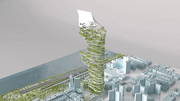 Una 'máquina respiratoria' para las ciudades del futuro