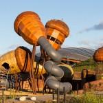 Parque de juegos celebra los bosques en peligro de Australia