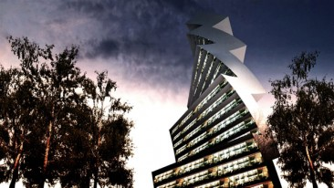 Twilt Tower, el ideal de un rascacielos solar