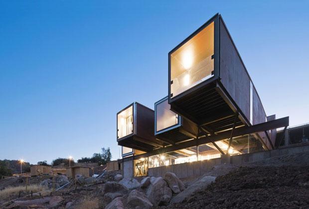 """""""Casa Oruga"""", los contenedores en la arquitectura"""