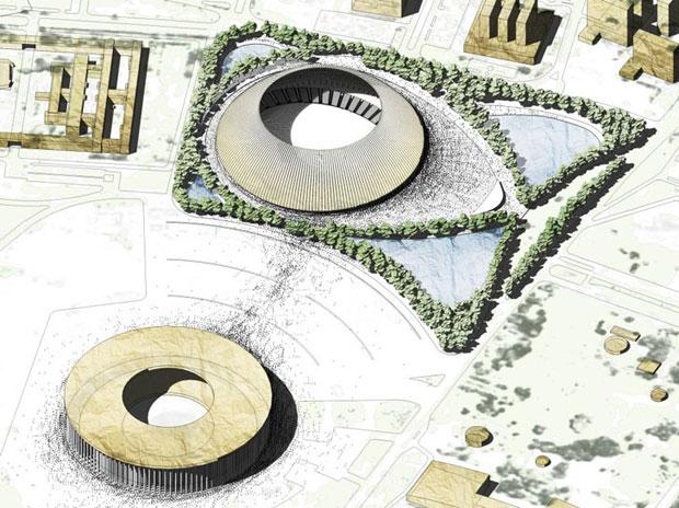 Estadio sustentable para los Juegos Olímpicos de Río 2016