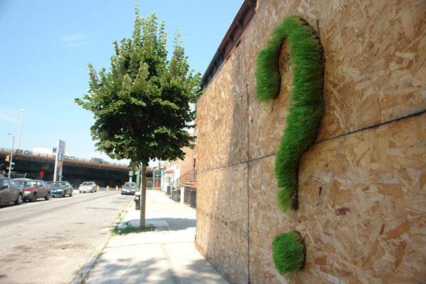 El nuevo arte urbano se vuelve verde