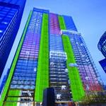 Alumbrando la ciudad con biolámparas de algas