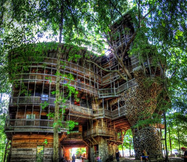 La casa del Árbol más grande del mundo
