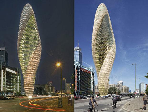 Green8: ciudad jardín vertical para Berlín