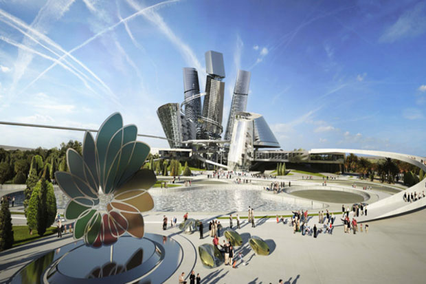 Cinco surrealistas diseños urbanos para la Expo Internacional 2017