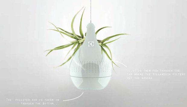 Air Drop: purifica el aire gracias a una planta