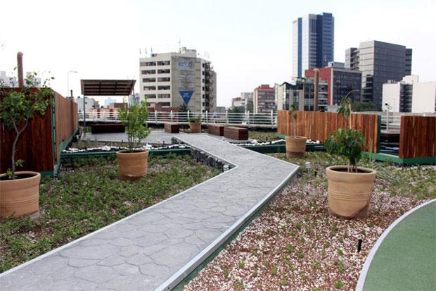 La azotea verde más grande de Latinoamérica está en México