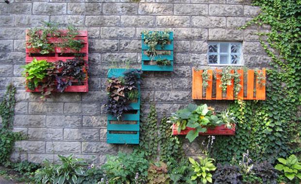 Pallets reciclados: un mundo de posibilidades para la decoración