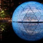 7 mil botellas recicladas dan forma a un pabellón en Hong Kong