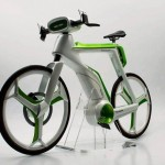 """Bicicleta come el smog mediante """"fotosíntesis"""""""
