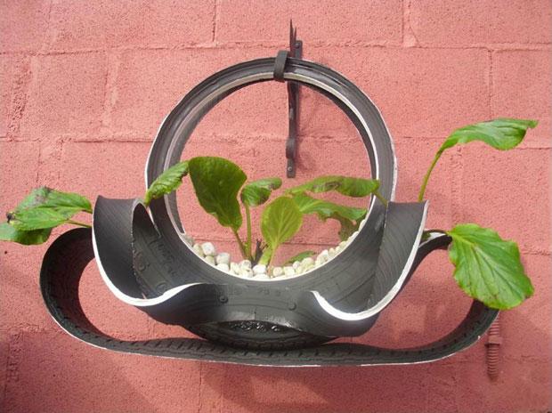 Ideas para reciclar neumáticos