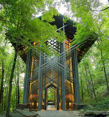 Alumnos de Frank Lloyd Wright diseñan una capilla sustentable