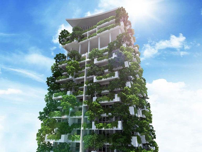 Sri lanka tendr el jard n vertical m s alto del mundo for Edificios con jardines verticales