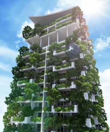 Sri Lanka tendrá el jardín vertical más alto del mundo