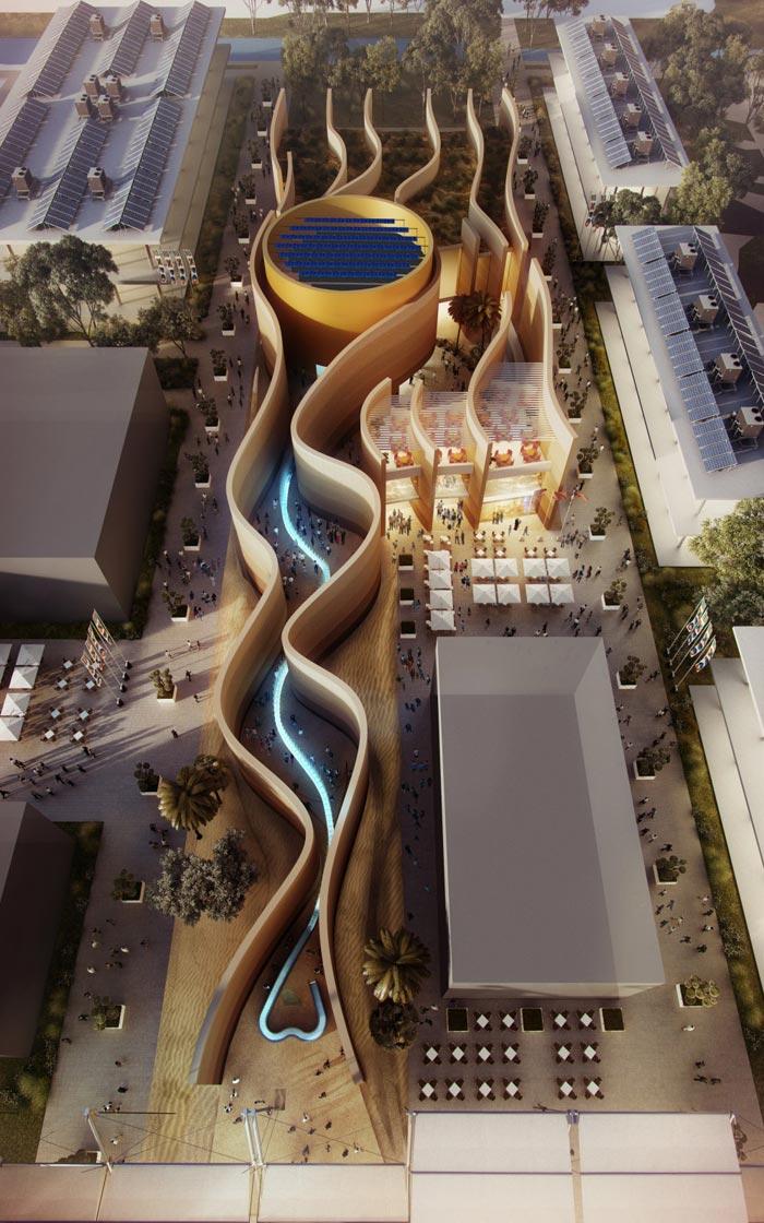 Expo Milán 2015: Foster revela su diseño para el Pabellón UAE