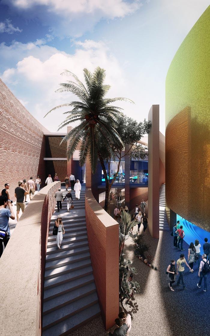 Expo Milán 2015 Foster revela su diseño para el Pabellón UAE
