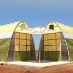 Casa sustentable que se construye en un día