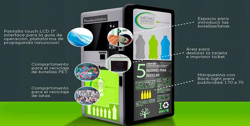 Paga tu pasaje del Metrobús con una botella de plástico o a una lata de aluminio